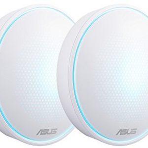Routery, AP ASUS ASUS Lyra Wi-Fi Mesh-system, biały 90IG04B0-BO0B30